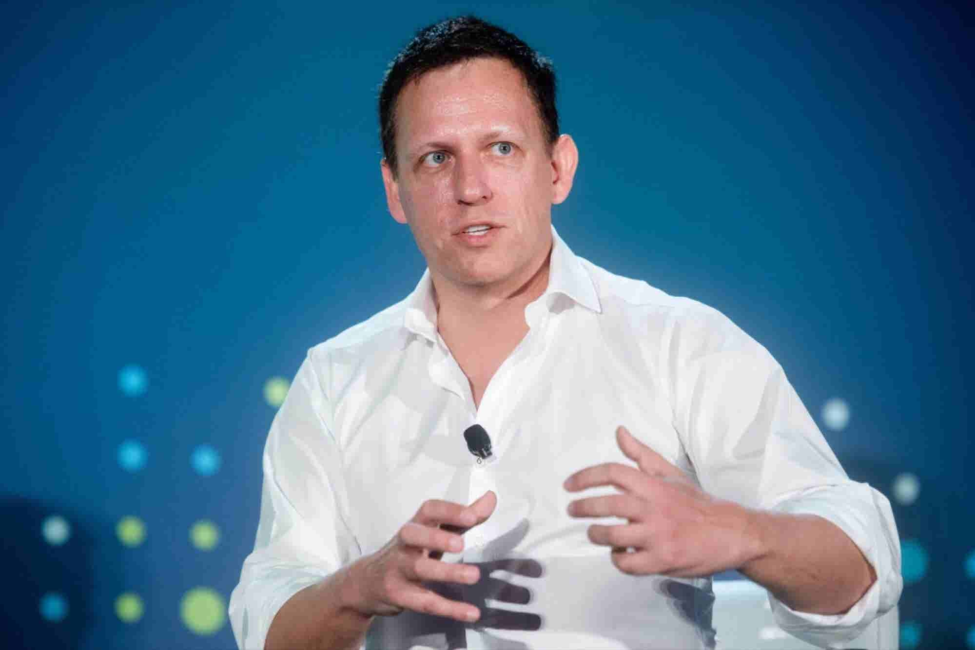 Peter Thiel on Gawker: 'If I Didn't Do Something, Nobody Would'