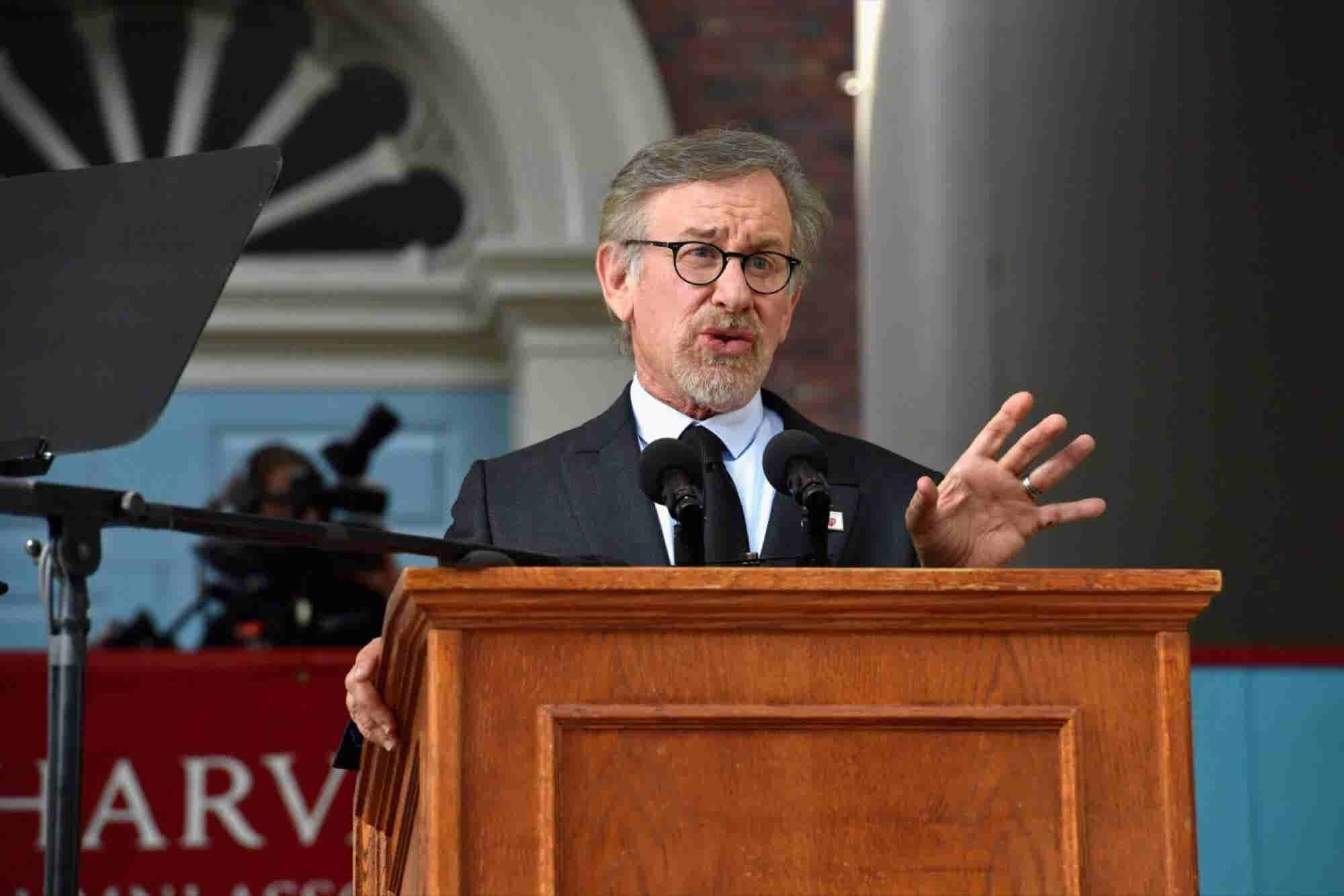 Steven Spielberg Commencement Speech, Harvard University, May 2016 (Tr...