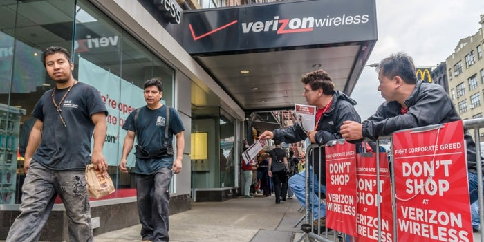 Verizon, Unions Agree to Pay Raises, New Jobs to End Strike