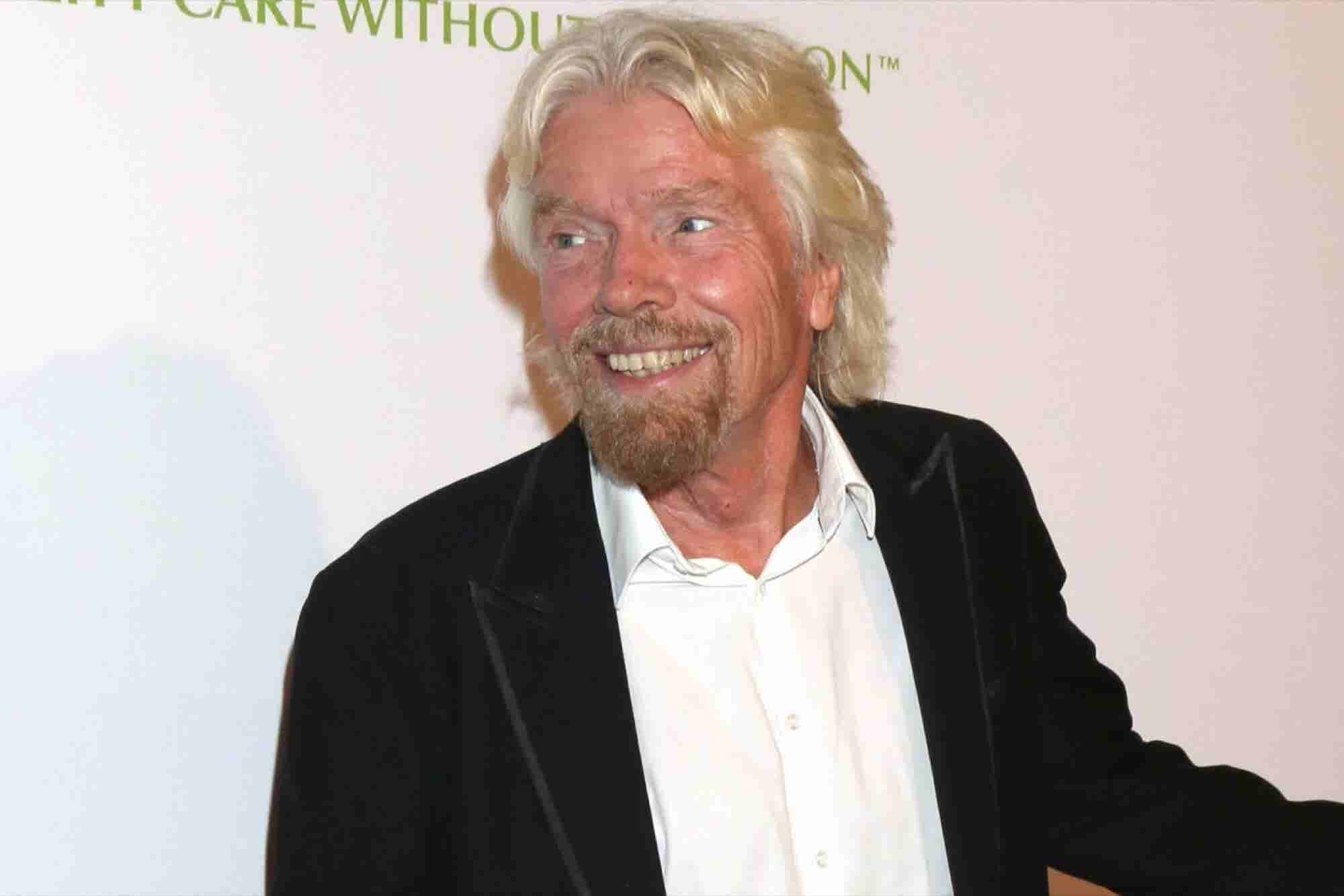 Richard Branson: 'I Don't Believe That Retirement Should Be the Goal'