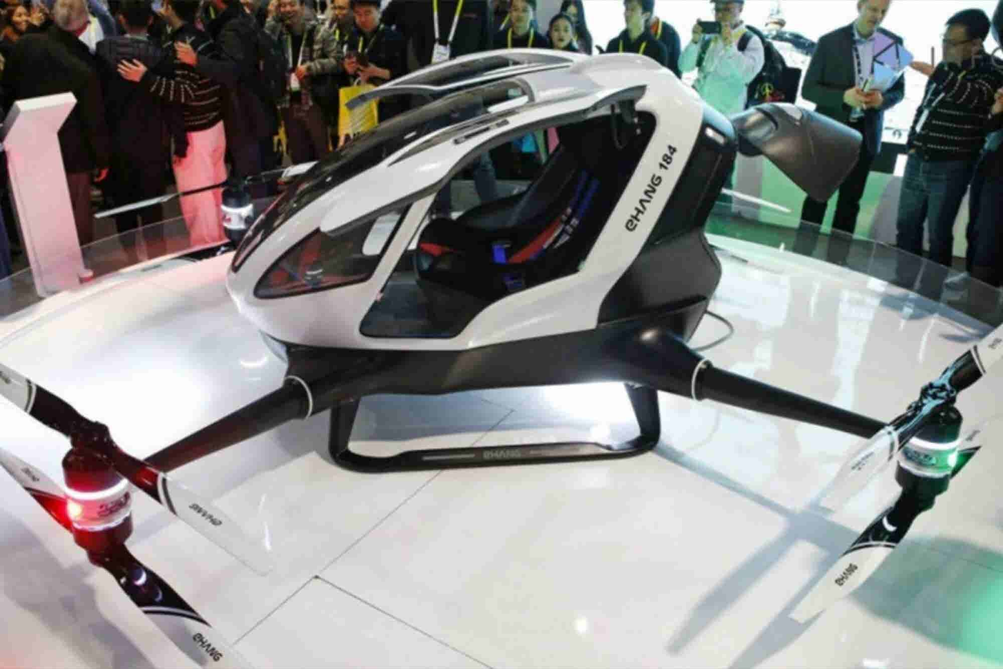 Would You Fly in This Single-Passenger Drone?