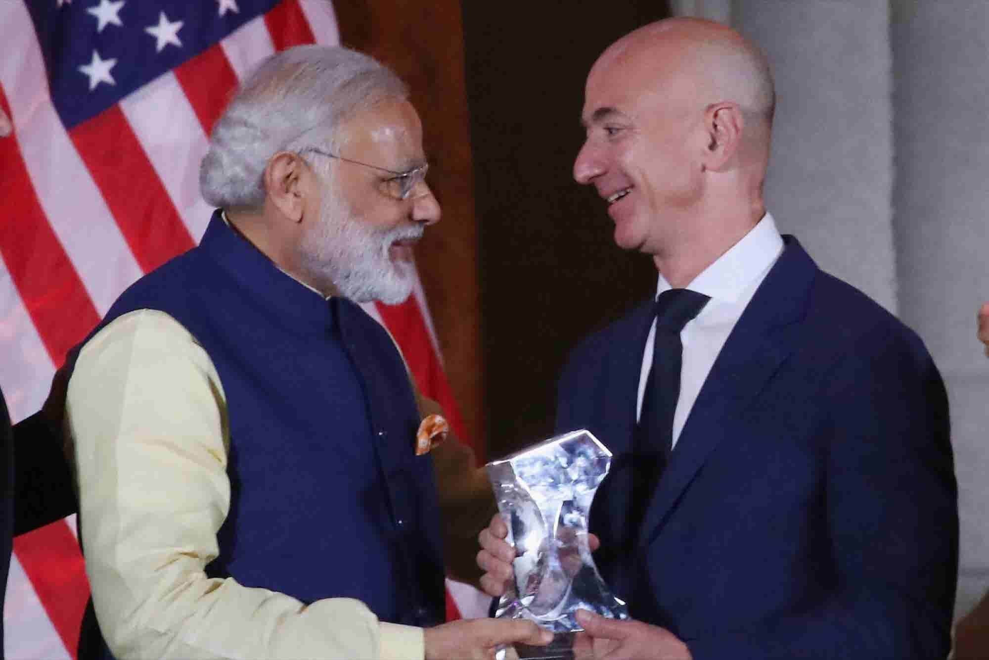 Jeff Bezos Is Adding $3 Billion to Amazon India's Budget -- Start Up Y...