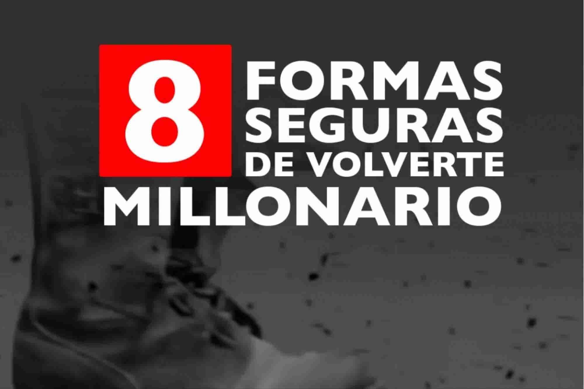 Video: 8 pasos lentos para ser millonario