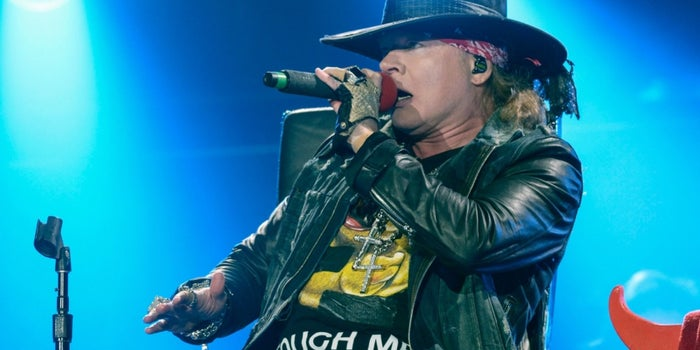 Axl Rose Is Fat  His Personal Branding Should Embrace That