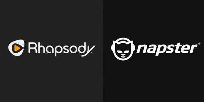 Rhapsody Is Taking on the Name of Napster. Is the Move Brand Suicide?