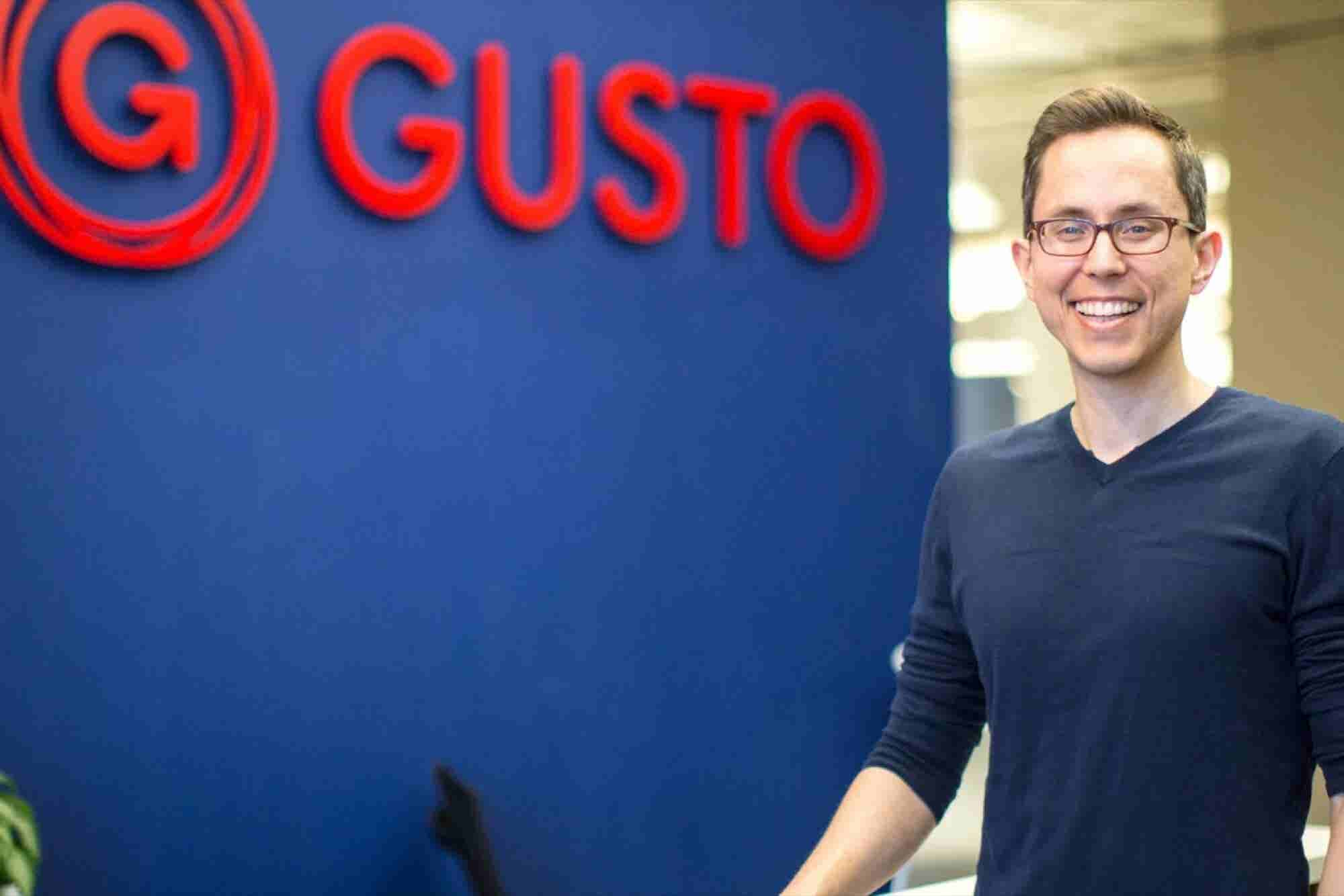 The CEO of Billion-Dollar Startup Gusto Believes Passion Should Come Before Revenue