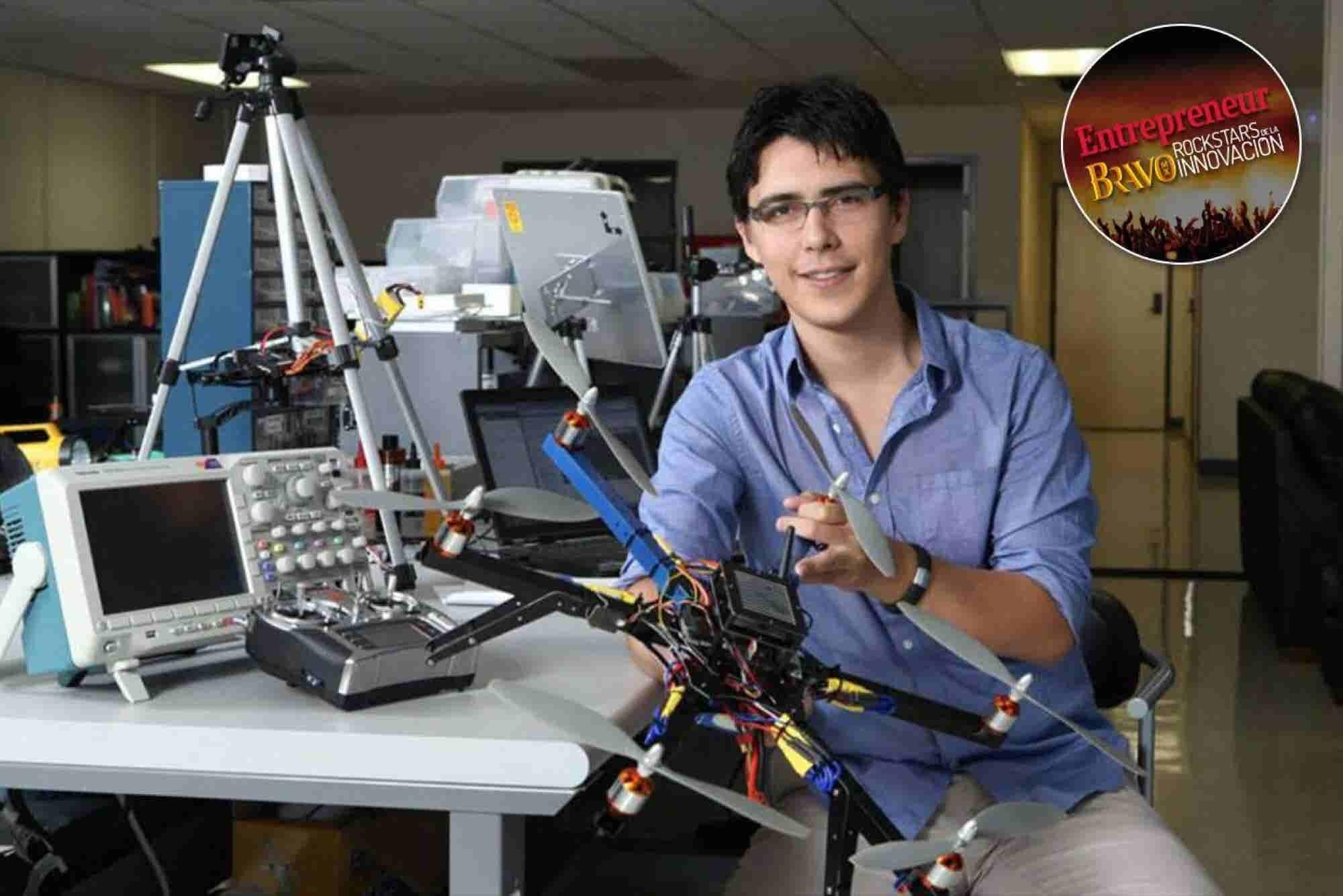 El piloto frustrado que se convirtió en rey de los drones