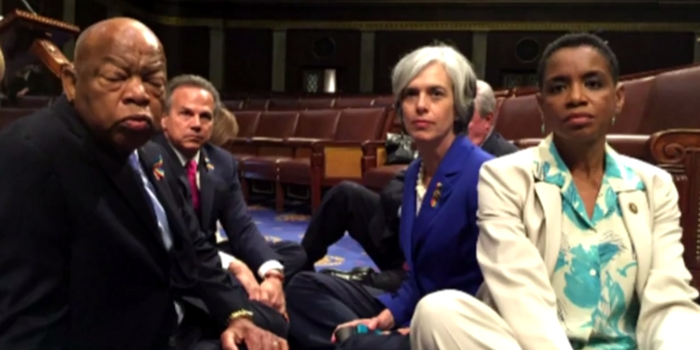 Gun Bill Debate: Should Politicians Be Streaming Sit-Ins?