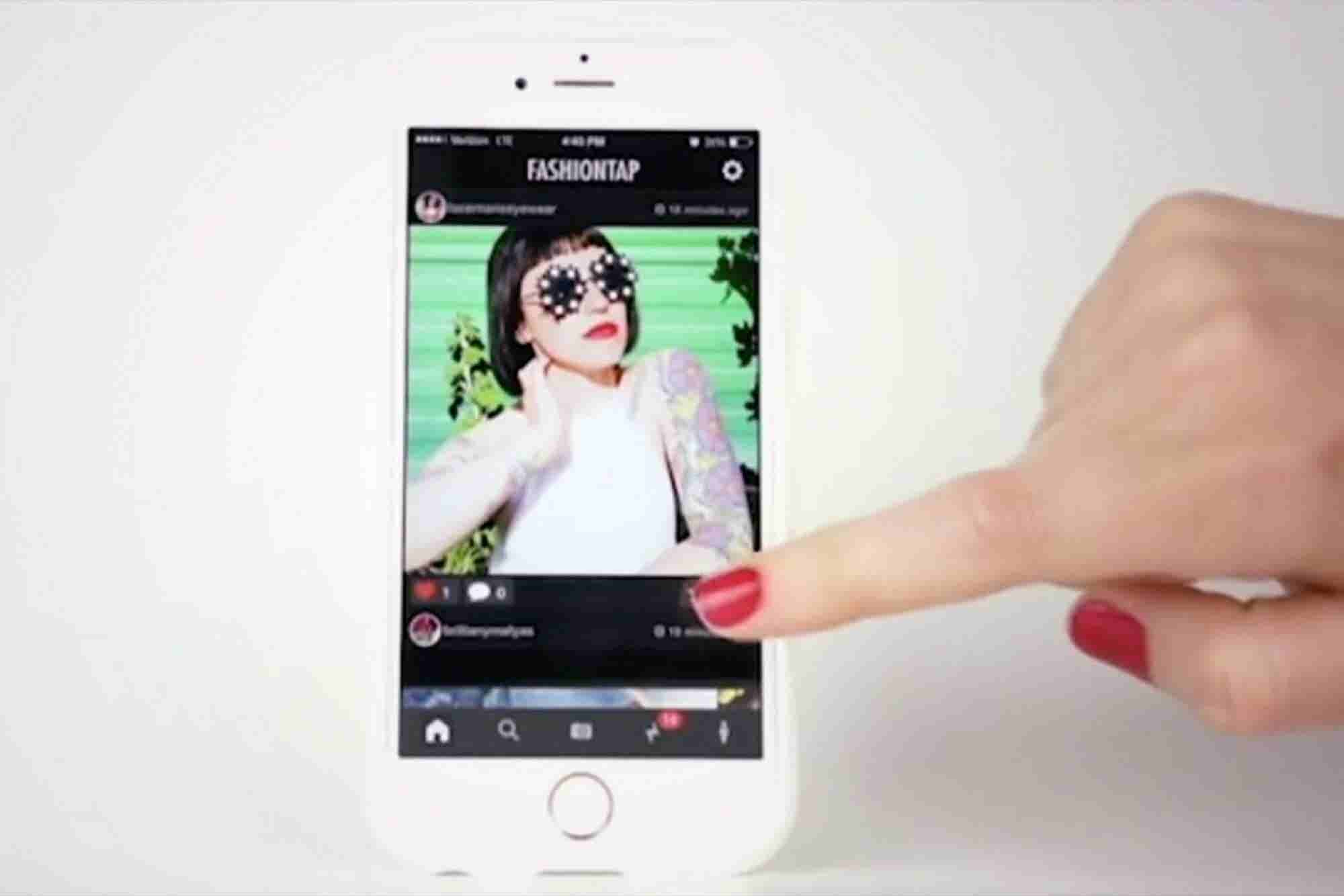 The FashionTap Social-Networking App Bridges the Gap Between Tech and Fashion