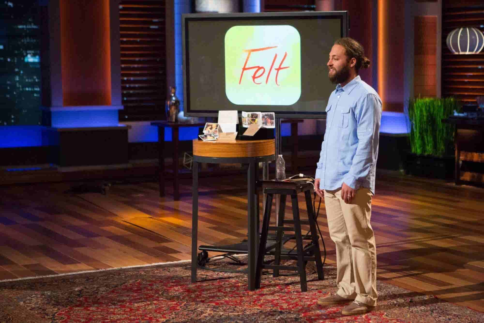 The Shark Tank Effect: This Entrepreneur 'Felt' the Power of the Show