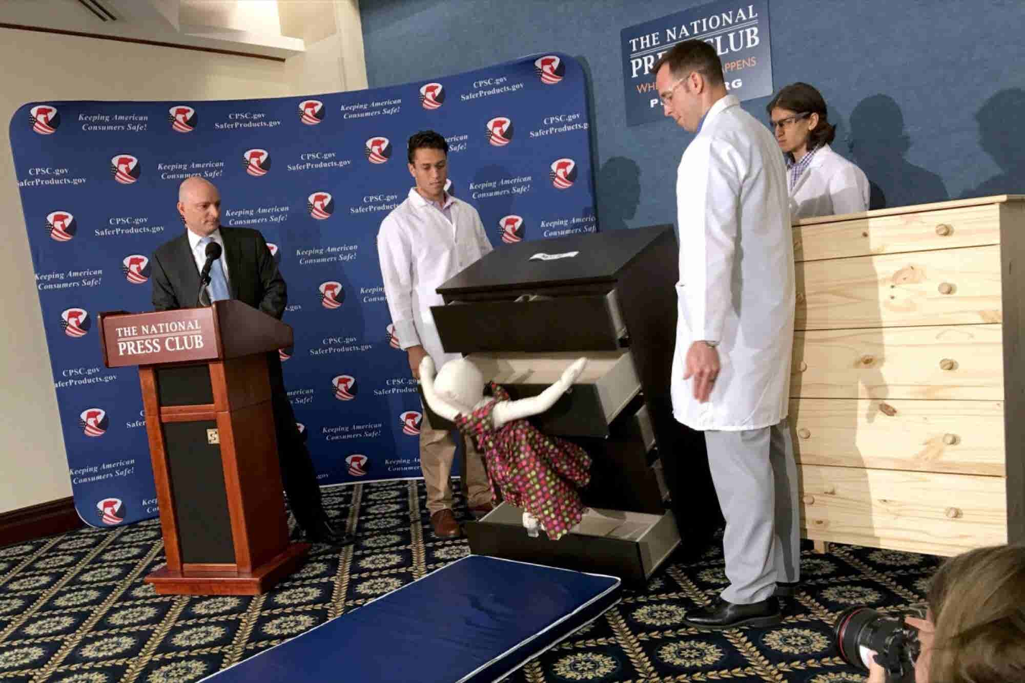 IKEA Recalls 36 Million Chests, Dressers After Six Deaths