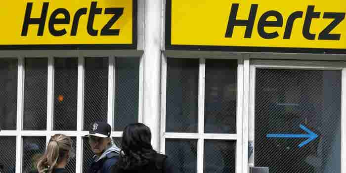 Hertz Signs Rental Deals With Uber and Lyft
