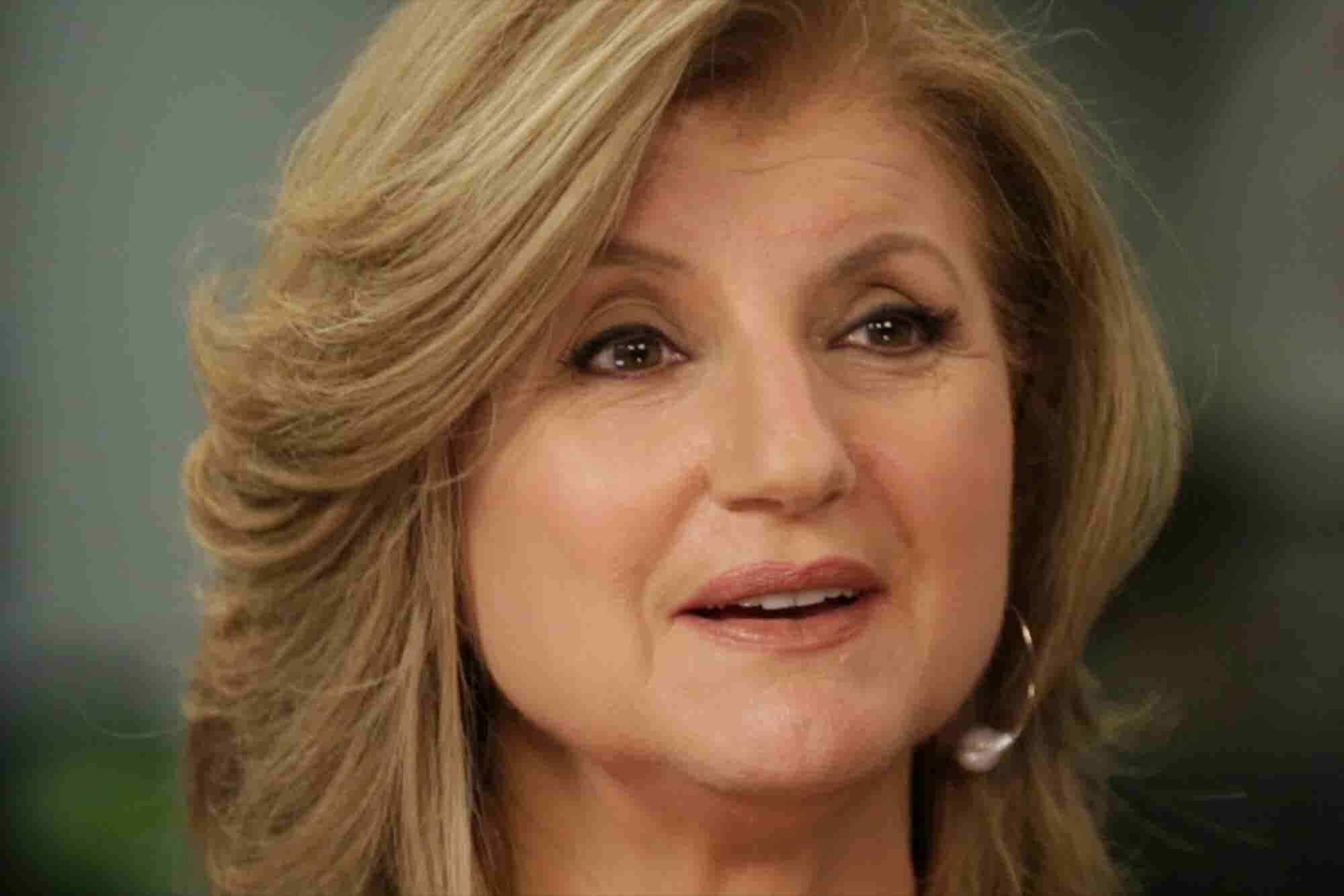 Arianna Huffington's Dramatic Lesson After 'Coming to in a Pool of Blood and Realizing Nobody Had Shot Me'