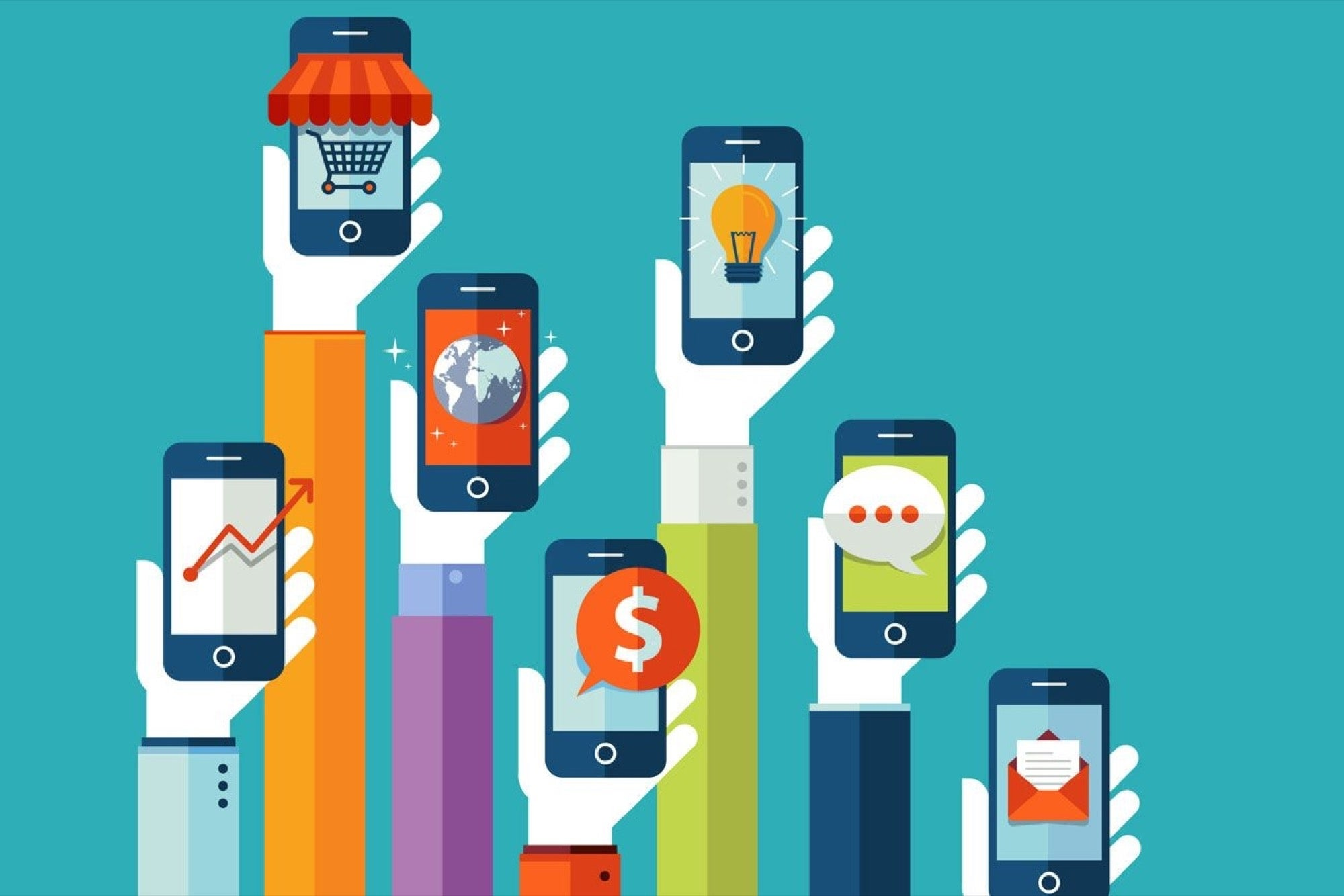 9 Tools For Building Your Own Mobile App Central Distribution Device Manages Phones Internet Audio Video
