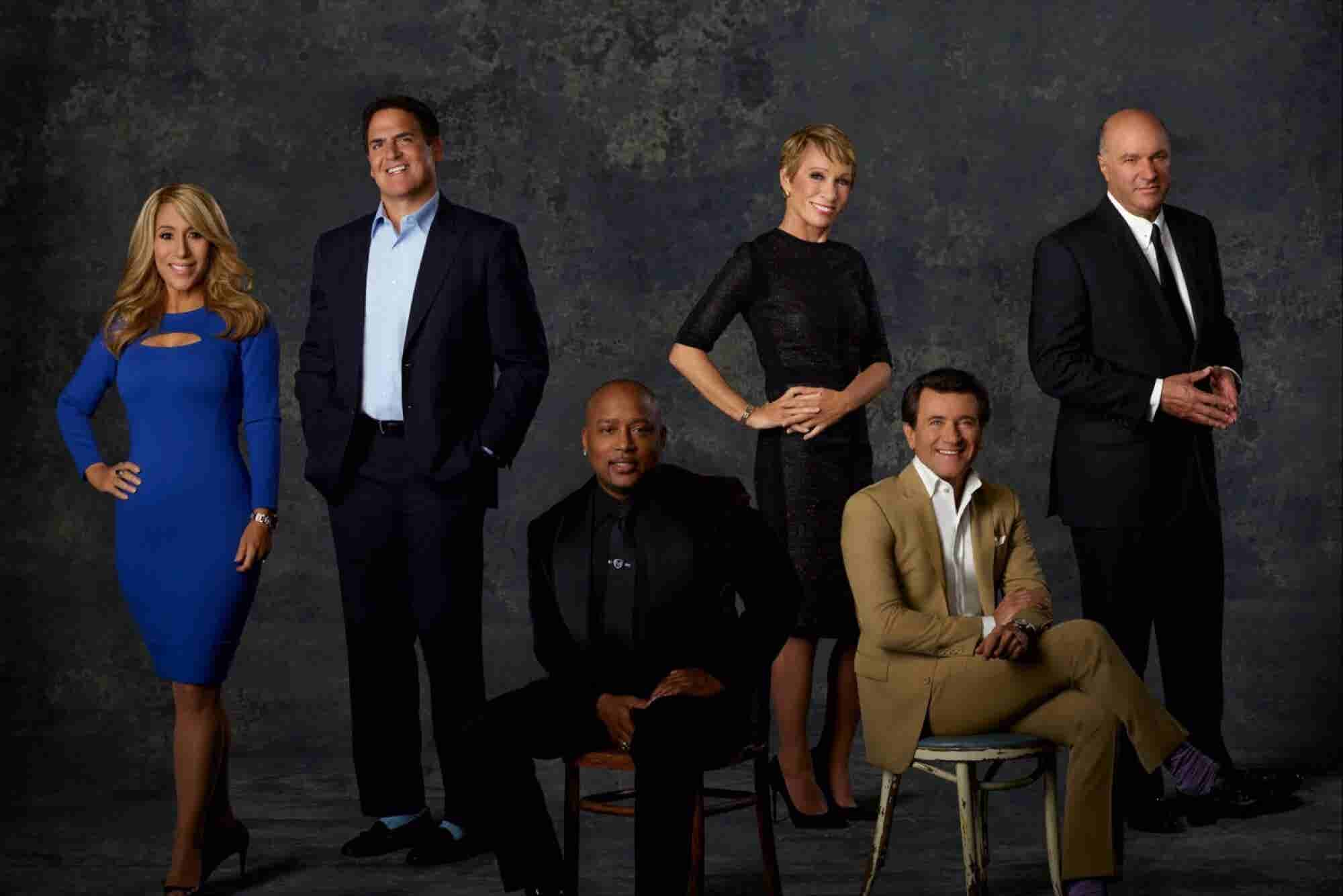 All 7 Shark Tank Stars Share Tips on How to Become a Millionaire