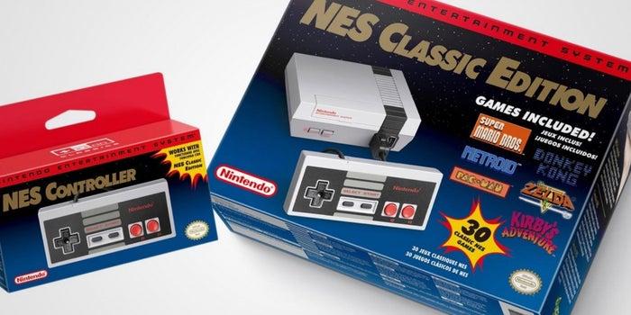 A Mini Retro Nintendo NES Arrives in November