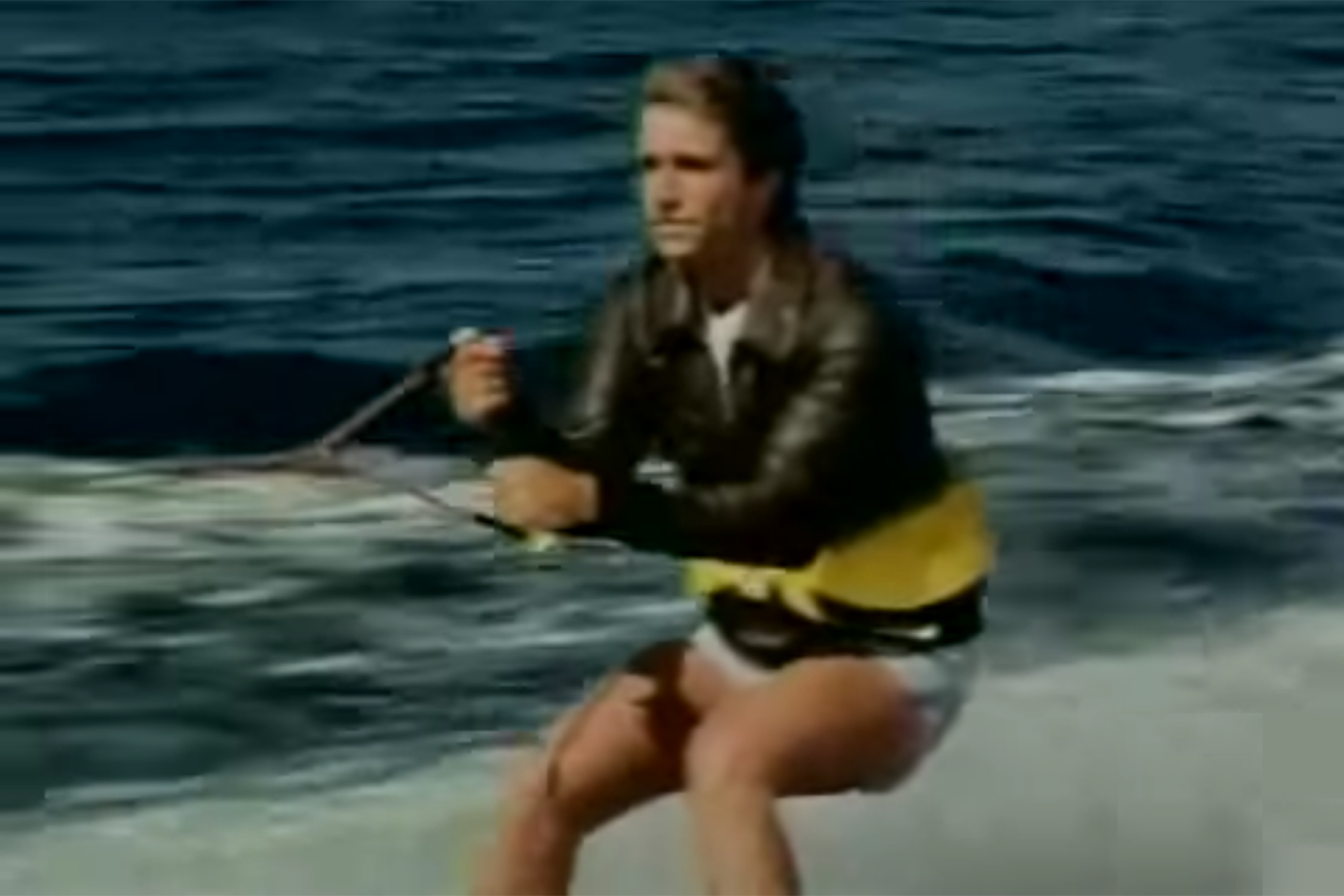 Let\u0027s Watch Fonzie Jump the Shark One More Time for Garry Marshall