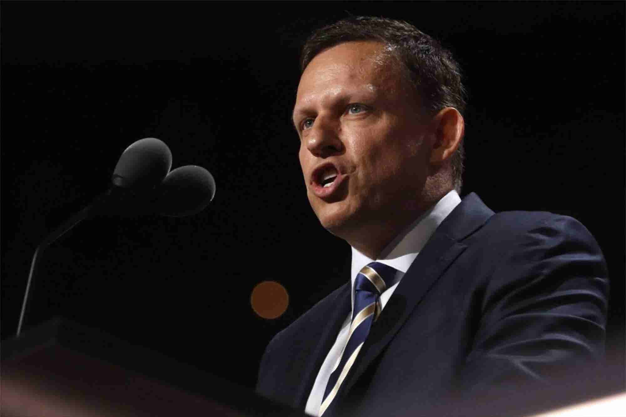 Peter Thiel Tells Republican Convention that America Needs a Tech Upgr...