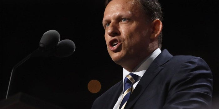 Peter Thiel Tells Republican Convention that America Needs a Tech Upgrade