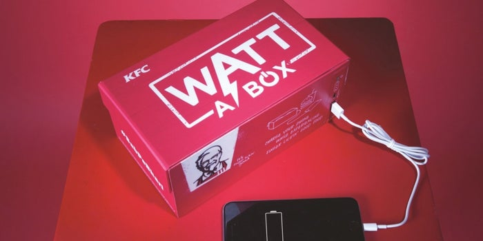 'Watt-a-Box'! Feed Your Belly And Phone