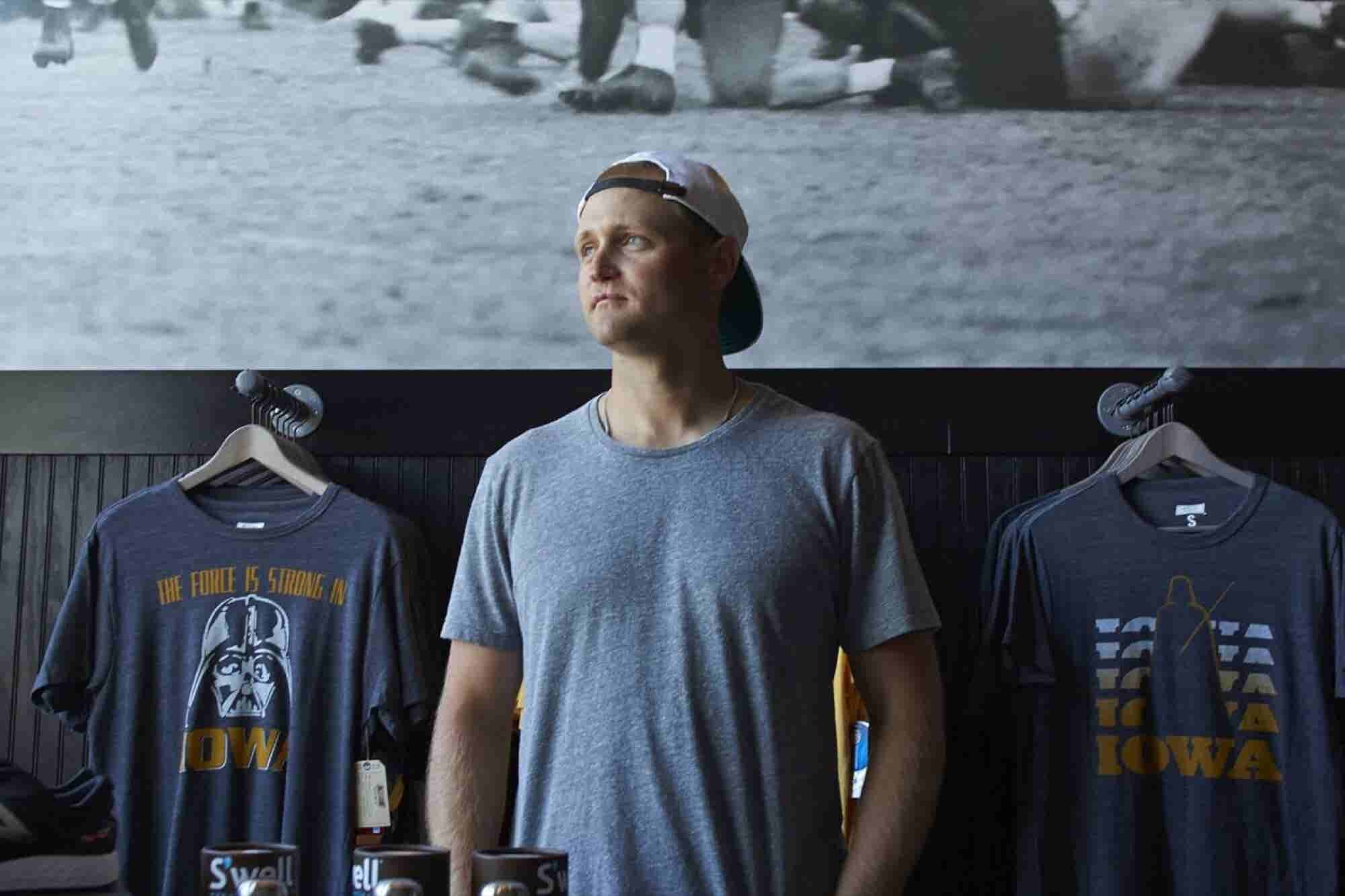 How This NFL Player Became Iowa City's Retail Champion