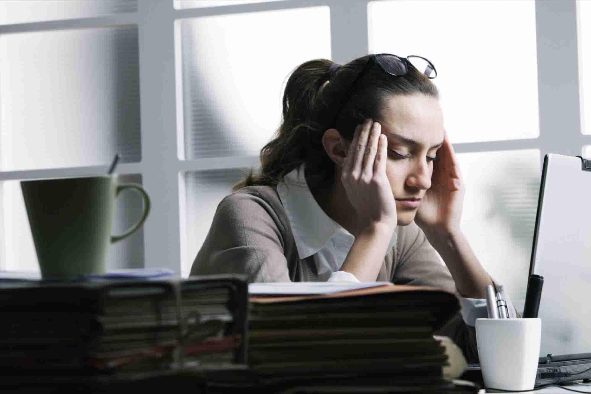 10 señales de que estás demasiado estresado