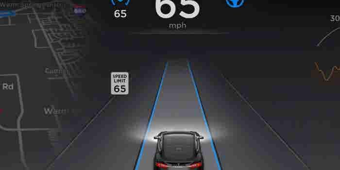 Tesla Model S Speeding Before Fatal Crash