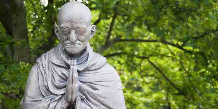 5 frases de Gandhi para cumplir tu visión