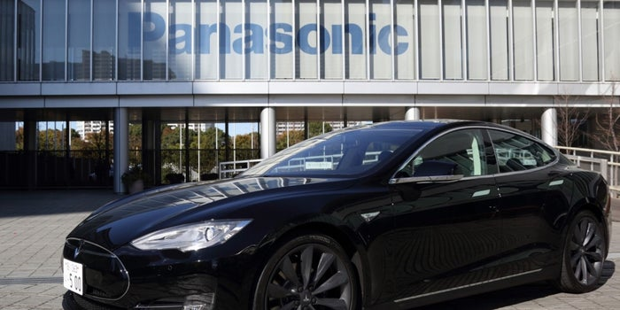 Panasonic to Raise Funds for Tesla Plant