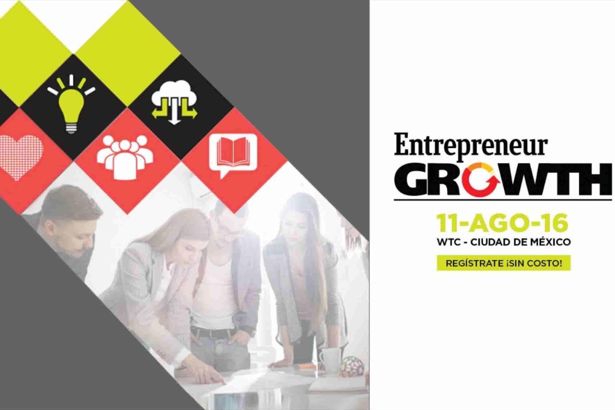 ¡Mañana llega Entrepreneur Growth 2016!