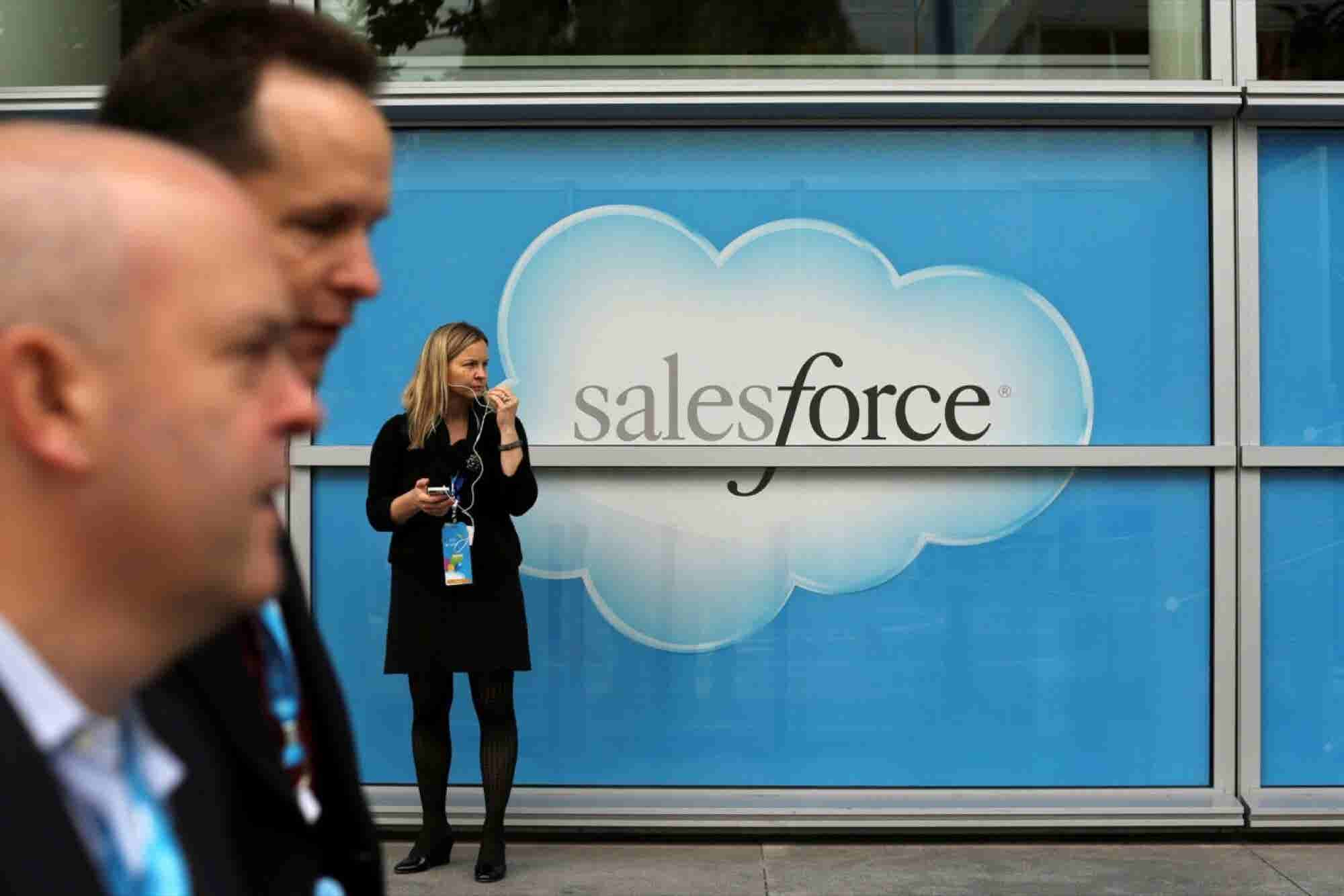 Salesforce to Buy Document-Editing Startup for Millions