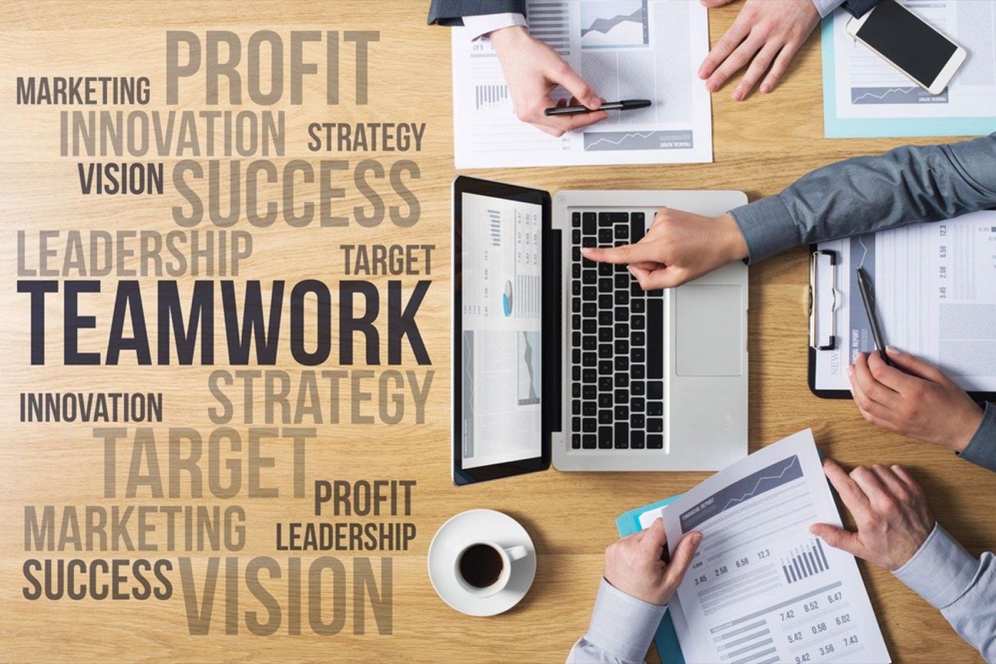 business team shutterstock concepts success building entrepreneur build why principles money marketing credit ways words royalty 3d background 2000 essential
