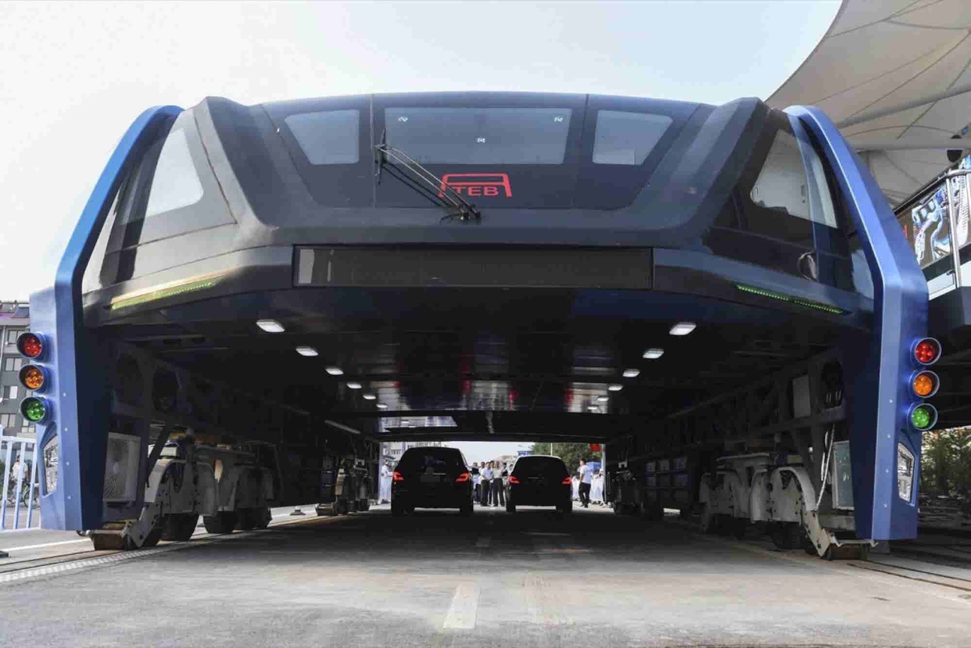 China's Car-Swallowing Bus Is Apparently for Real