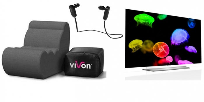 "Entrepreneur Daily Deals: $700 Off 55"" LG 4K HDTV, Bluetooth Headphones, and More"