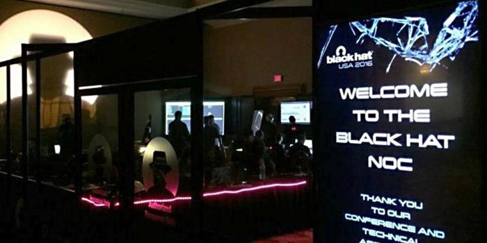 A Peek Inside the Black Hat Network Operations Center