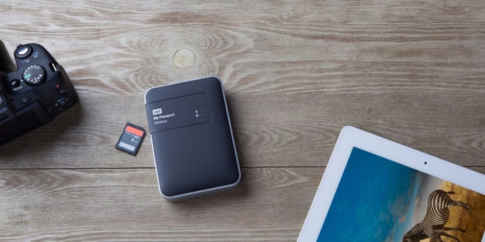 Store It: My Passport Wireless By WD