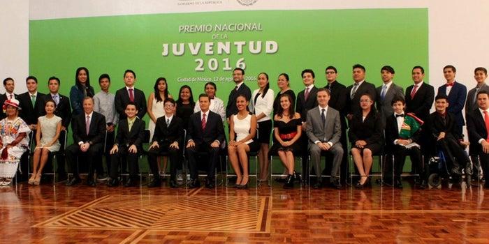 Conoce a los ganadores del Premio Nacional de la Juventud 2016