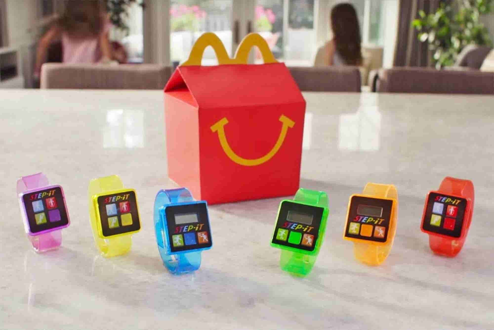 McDonald's Pulls Plug on Happy Meal Activity Trackers