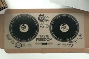 Pizza Hut Debuts Playable DJ Pizza Box