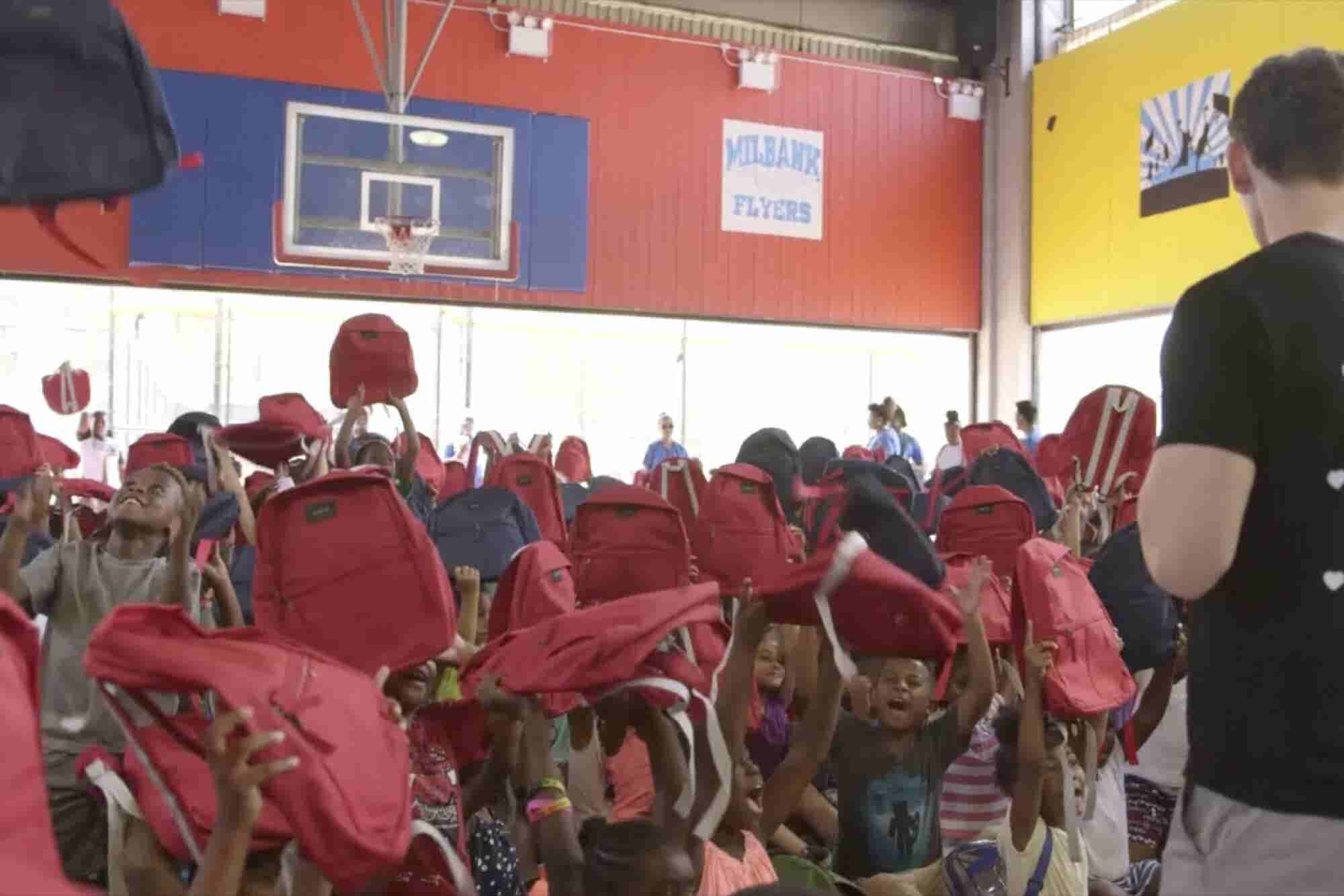 How This Backpack Startup Is Giving Back