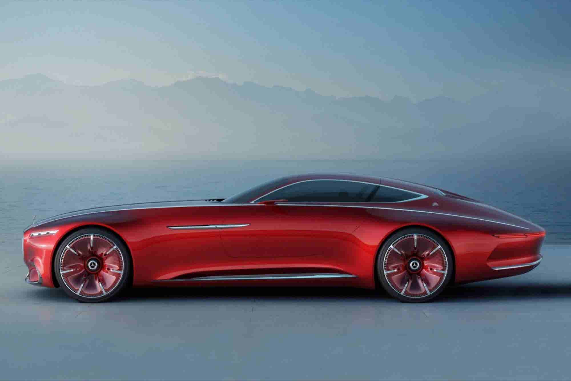 Check Out the Sleek 'Vision Mercedes Maybach 6' Concept EV