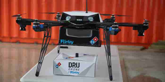 Pizza by Drone: Unmanned Air Delivery Set to Take Off in New Zealand