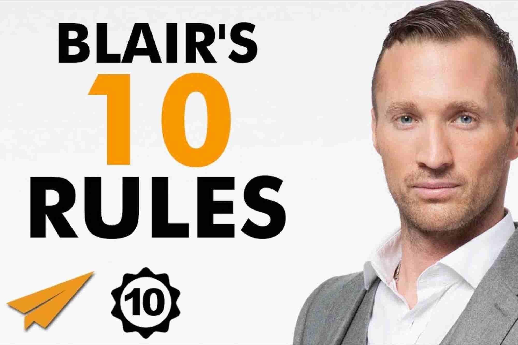 Ryan Blair's Top 10 Rules for Success