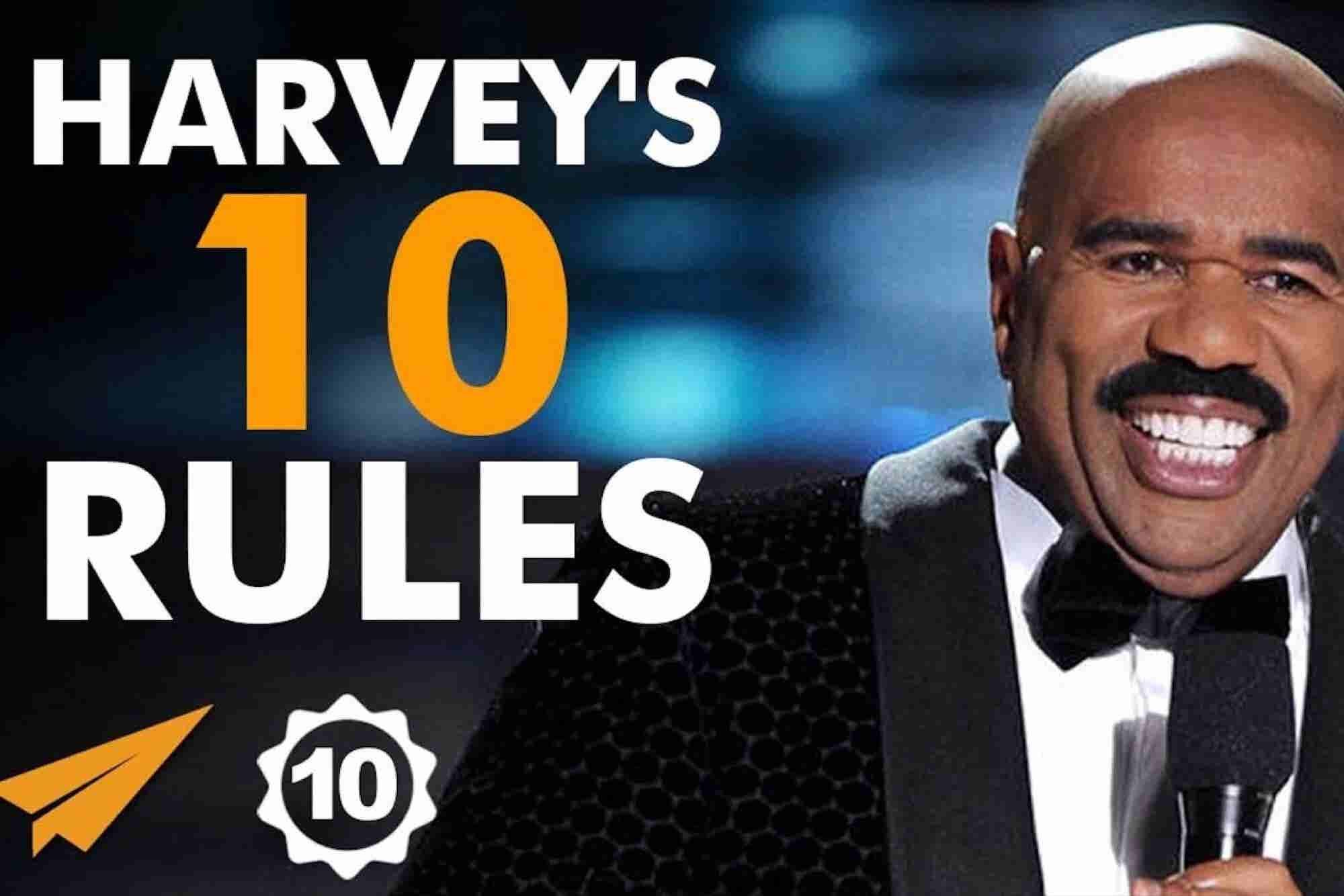 Steve Harvey's Top 10 Rules for Success
