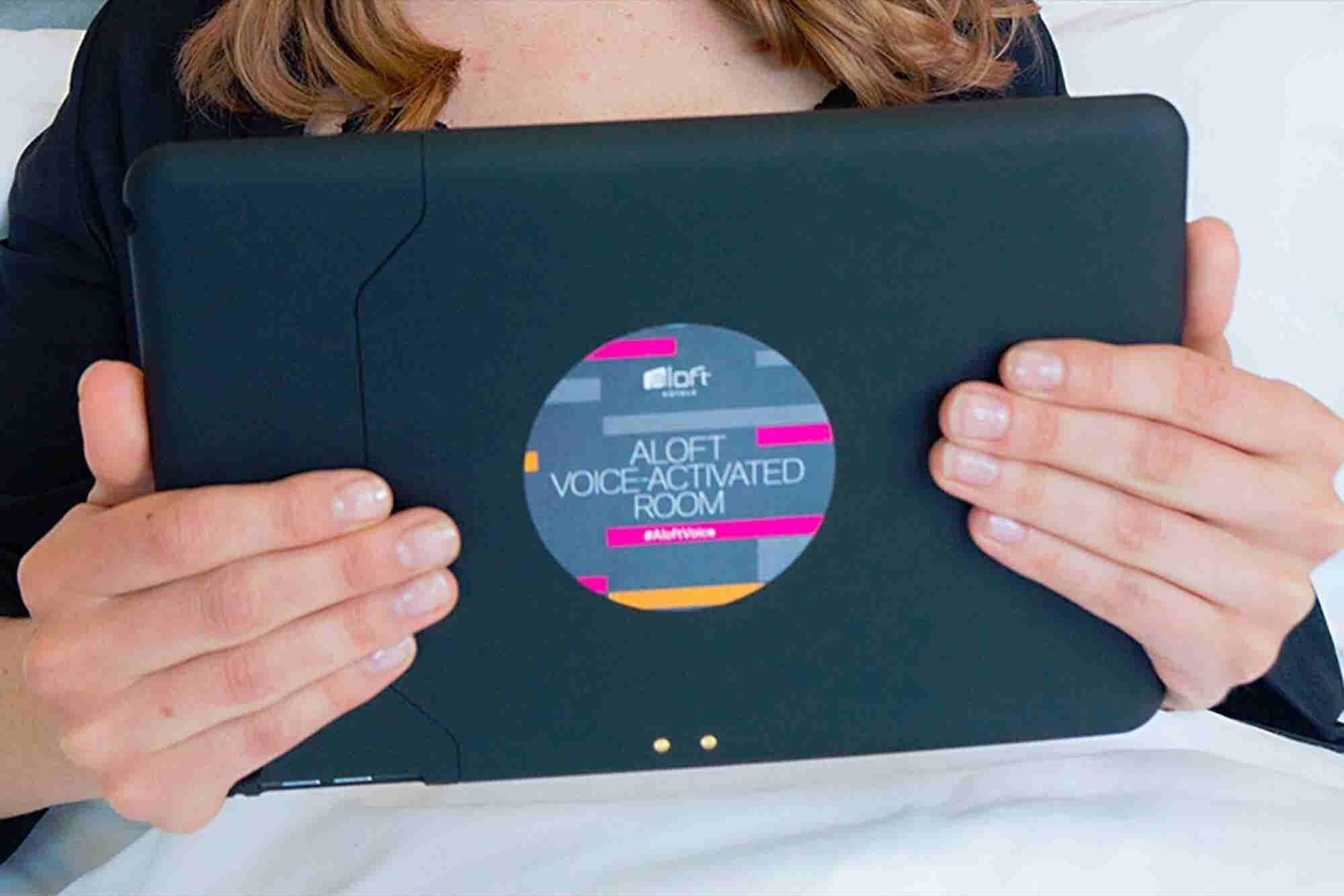 Aloft Hotel Adds Siri-Equipped Rooms