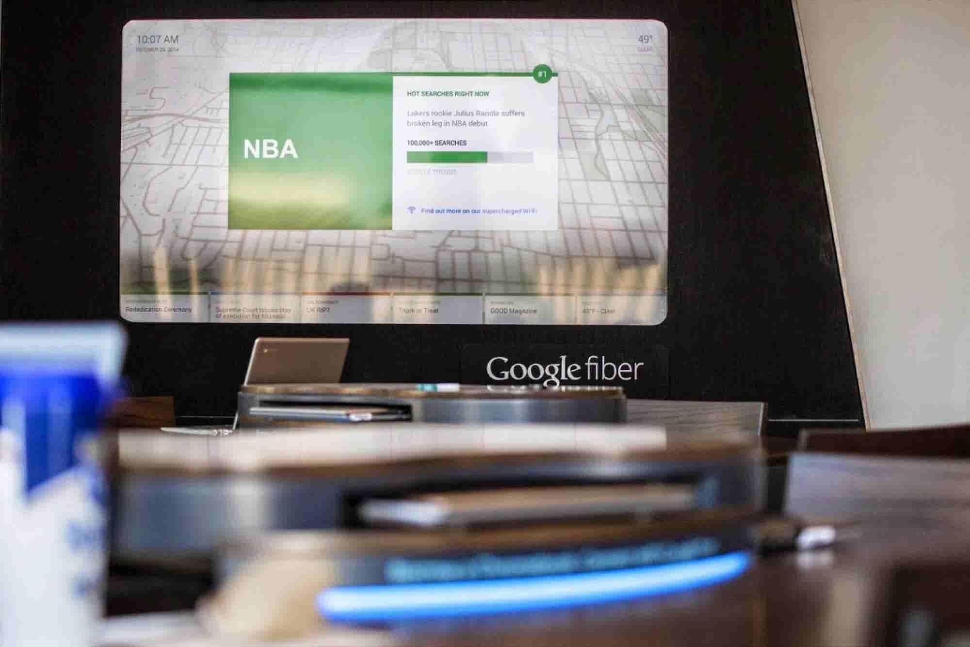 AT&T: Google Fiber Demands Government Favors