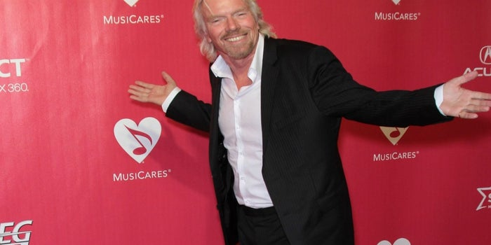 10 pasos para parecerte a Richard Branson