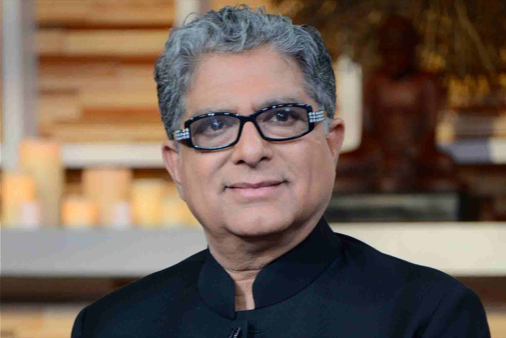 Deepak Chopra's 3 Quick Tips for Dealing With Toxic Bosses