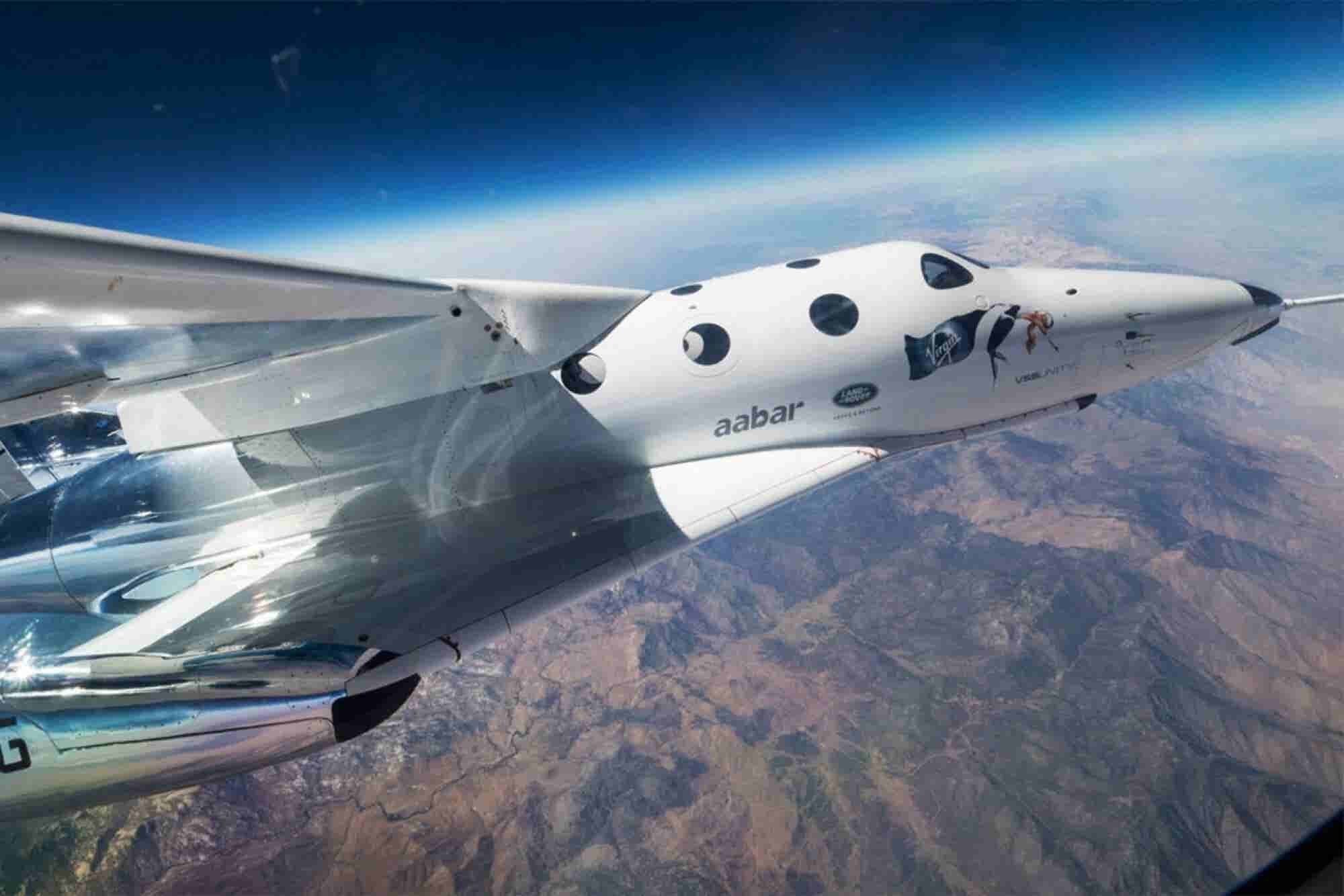 Richard Branson's Virgin Galactic Returns to the Skies After Two Years