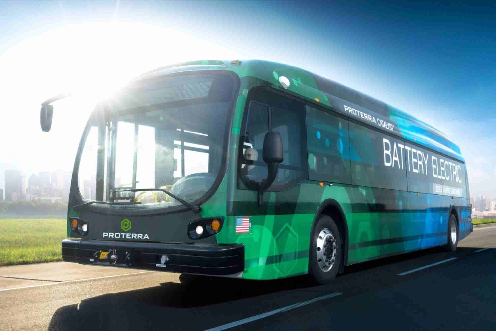New Electric Bus Could Travel 350 Miles Per Charge